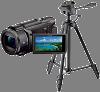 ビデオカメラ 三脚セット